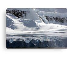 Antarctic glaciers Metal Print