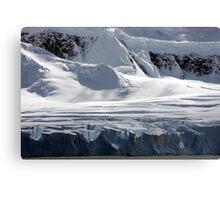 Antarctic glaciers Canvas Print
