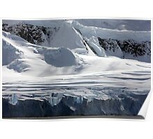 Antarctic glaciers Poster