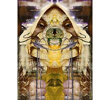 agonia giallo Photographic Print