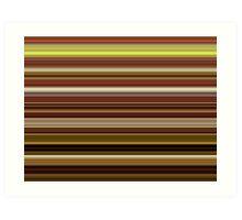 Earthly Lines Art Print