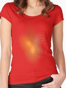 Flame Women's Fitted Scoop T-Shirt