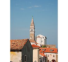 Piran Buildings Photographic Print