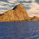 Mountain Island by dmark3