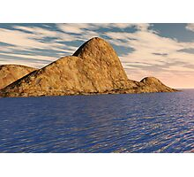 Mountain Island Photographic Print