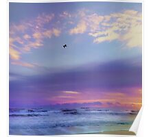 Florida Sunrise - New Smyrna Beach Poster