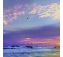 Florida Sunrise - New Smyrna Beach Photographic Print