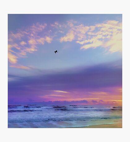 Florida Sunrise - New Smyrna Beach Photographic Print