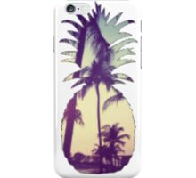 Pineapple/Palm Trees iPhone Case/Skin