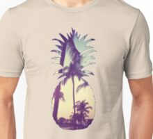 Pineapple/Palm Trees Unisex T-Shirt