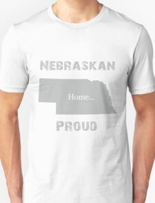 Nebraska Proud Home Tee T-Shirt