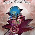 'Happy' Earth-day by Desirée Glanville