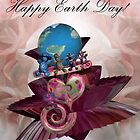 'Happy' Earth-day by Desirée Glanville AKA DevineDayDreams