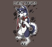 Leash Trained - Dark Blue Husky by AylaStarDragon