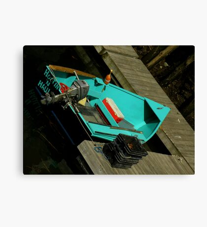Hootin' 'n Haulin' Canvas Print