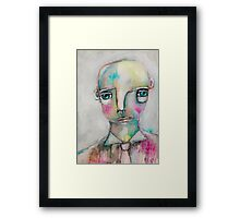 """Monday"" Framed Print"