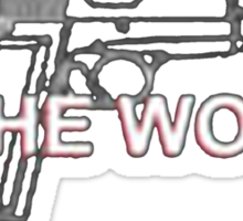There Are Three Useless Things In The World A Dull Knife An Unloaded Gun, And Obama - T-shirts & Hoodies Sticker
