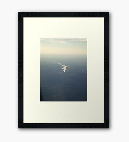 Snaking Through Framed Print