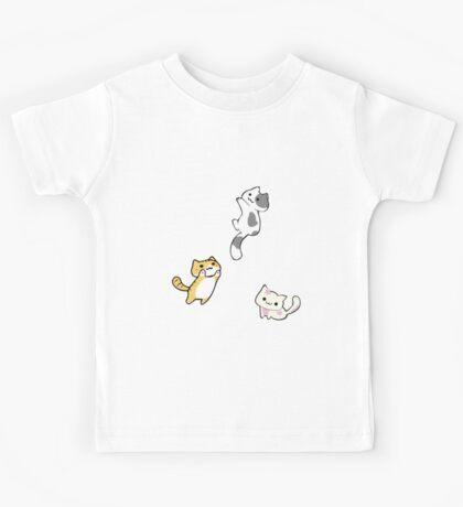 Mini Neko's (kittens) Kids Tee