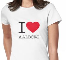 I ♥ AALBORG Womens Fitted T-Shirt