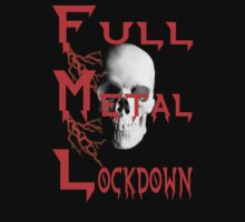 theFMLpodcast - Full Metal Lockdown (black) Kids Tee