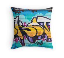 SYDNEY GRAFFITI 3 Throw Pillow
