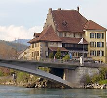 The Old Post of Aarburg (Switzerland) by kilmann