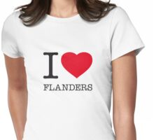 I ♥ FLANDERS Womens Fitted T-Shirt