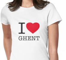 I ♥ GHENT Womens Fitted T-Shirt