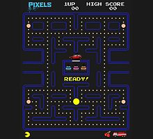 Pixel PacMan Game by Ztw1217