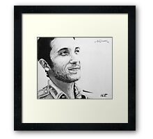 "Jon Richardson ""Love To Your Mothers"" print. Framed Print"