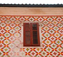 Tiled Building in Koper by jojobob