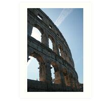 Pula's Amphitheater  Art Print