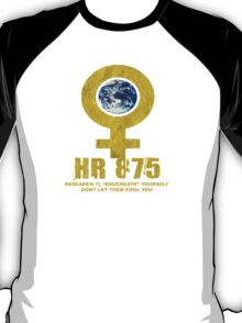 womans earth T-Shirt
