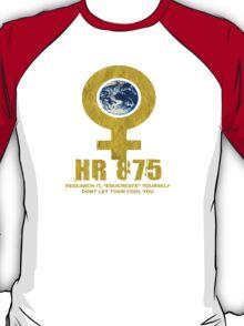 womans earth T-Shirt