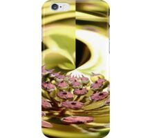 Gold Nature Abstract iPhone Case/Skin