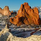 Garden of The Gods at Sunrise by Michael  Browne