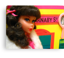 Barbie Shops On Carnaby Street Canvas Print