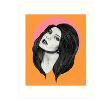 Charli XCX - I'm so Fancy Art Print