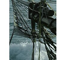 Ships Bow Photographic Print