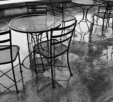 Rainy Day Cafe by Barbara Morrison