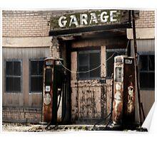 Garage - Scipio, Utah Poster
