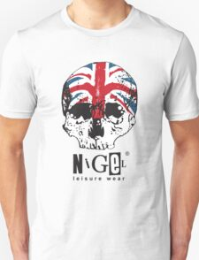 Nigel Leisure Wear - Skull and Union Jack Unisex T-Shirt