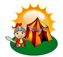 Little Knight Sunshine Camping by Hermann1403
