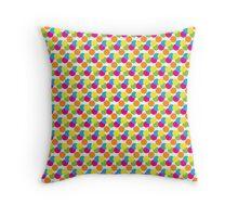 Polkadot Throw Pillow