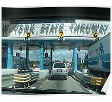 new york state thruway. Poster