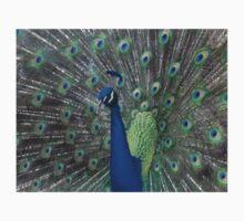 Peacock facing left Kids Tee