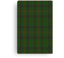 00032 Kennedy Clan Tartan  Canvas Print