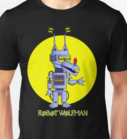 Robot Wolfman Unisex T-Shirt