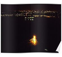 city lights. Poster